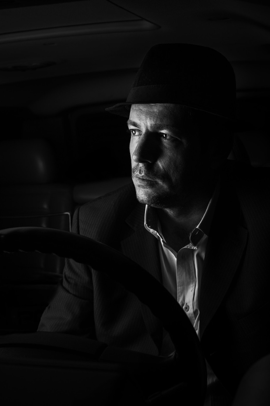 Secret Service by Misho5z - Dark Portraits Photo Contest
