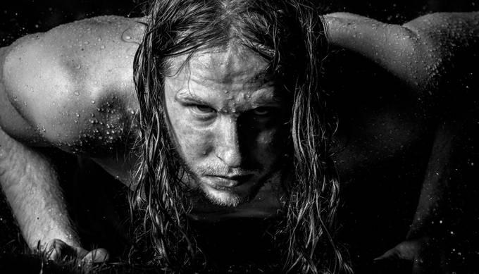 Rain by laurelhouston - Dark Portraits Photo Contest