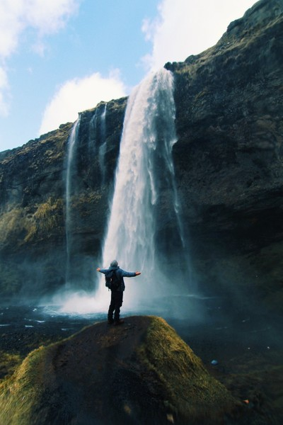 Soaking In Iceland