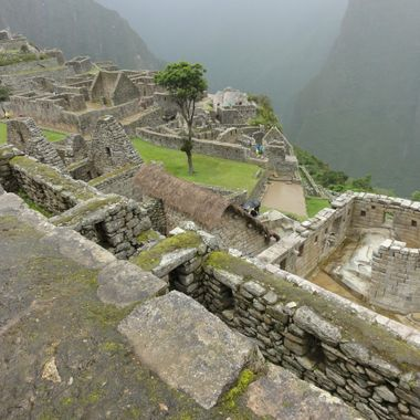 Temple of the Sun  Machu Picchu