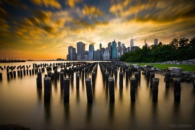 A New York City Summer Sunset