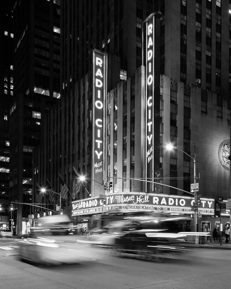 Radio City Hall by JADUPONT - Black And White Architecture Photo Contest