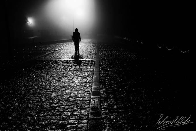 Dark Shadow by petrosnikolaides - A Walk In The Mist Photo Contest