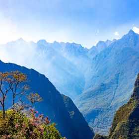 Within Machu Picchu, one of the great experiences comes from looking into the sorrounding landscape. The Andes where the Amazon begins from Machu...