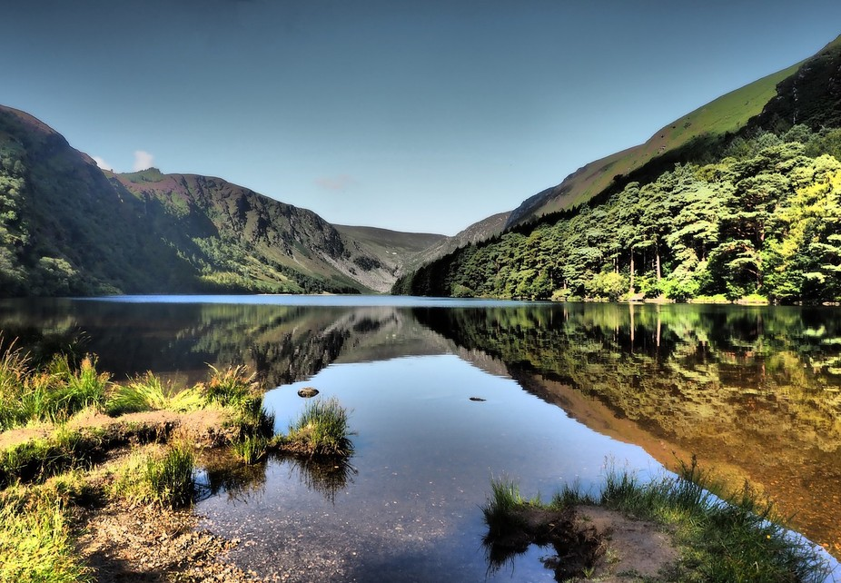 Glendalough upper lake