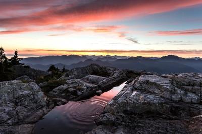 Mount Seymour Sunset