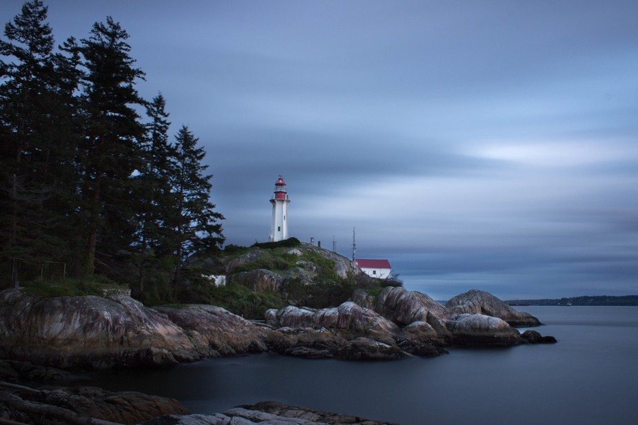 Lighthouse park is one of the most infamous spots on the north shore to take sunset photos. One s...