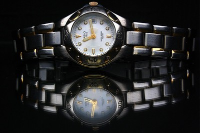 Casio Watch And Reflection