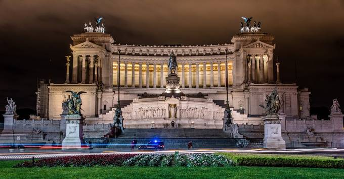 Rome by Night by Craigwww - Iconic Places and Things Photo Contest