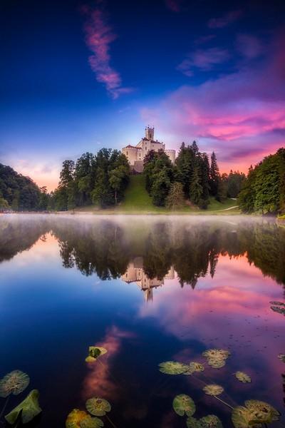 ...trakoscan castle XIX...