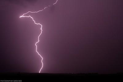 First Lightning Bolt