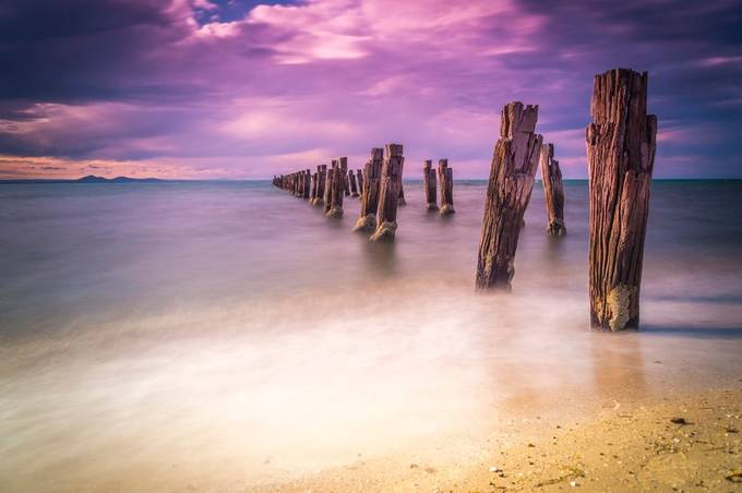 Clifton Springs Pier by Seany-B - Monthly Pro Vol 16 Photo Contest