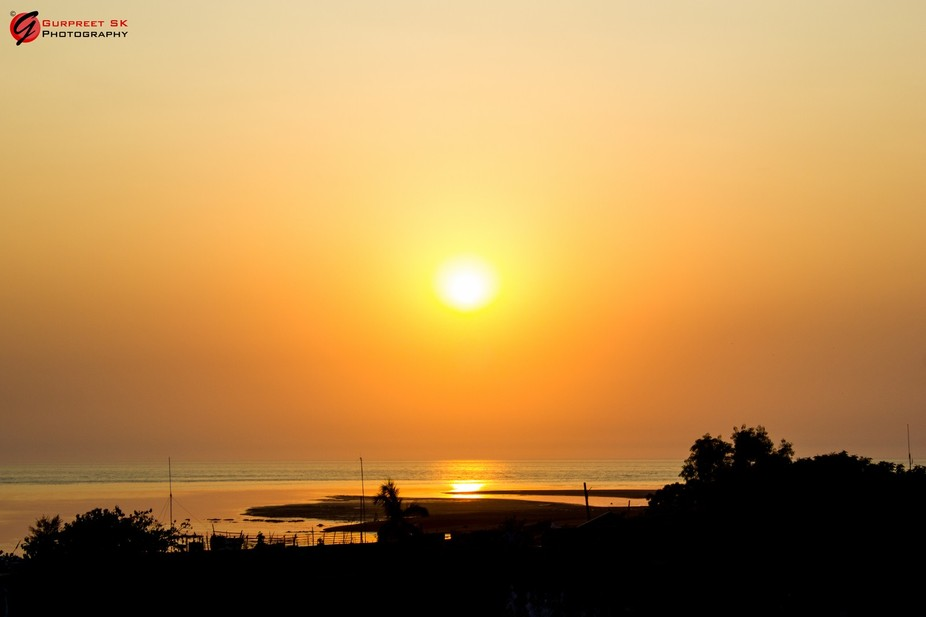 Sunset...!