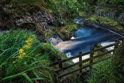 Ingleton Waterfalls Trail, North Yorkshire.