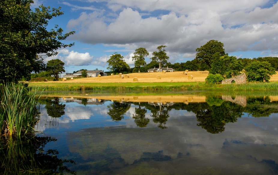 """This is taken at what is known as """"Pitfour lake"""", once part of the larger Pitfo..."""