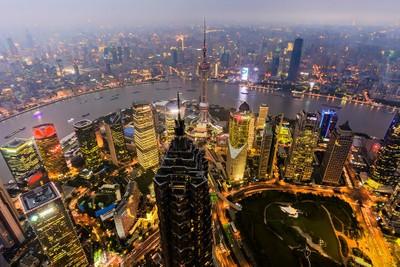 Shanghai before dark