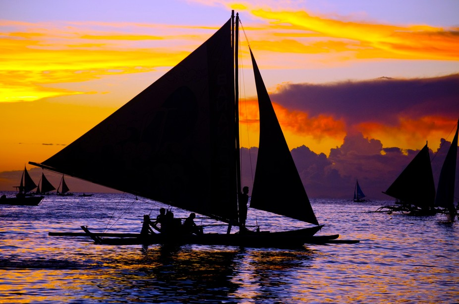 This photo was taken during our summer vacation at the beautiful island of Boracay, Philippines. ...