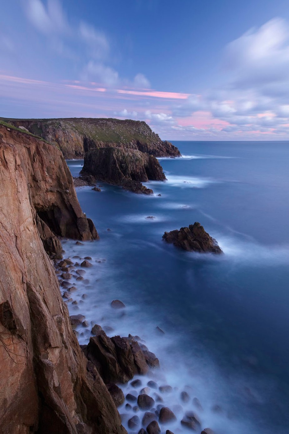 Lands End seascape, Cornwall, UK by LeePengelly - The Ocean Photo Contest