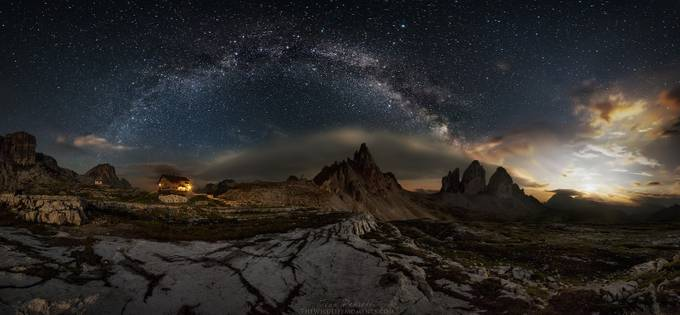 Galaxy Dolomites by wildlifemoments - Image of the Year Photo Contest by Snapfish