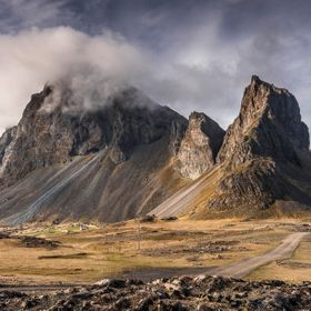 Once you drive beyond Höfn on Route 1, the landscape takes on an other-worldly grandeur. The Hvalnes lighthouse is behind me. One of the most br...