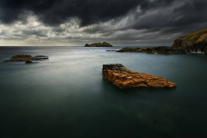 Godrevy.... by kbrowko - 500 Stormy Clouds Photo Contest