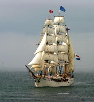Tall ships July 2005 Europa