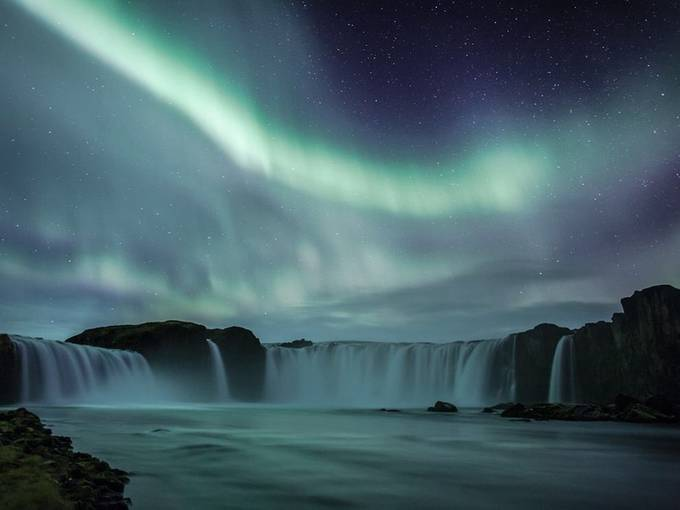 Northern Lights   Iceland by Smilemovement - Landscapes Of Iceland Photo Contest