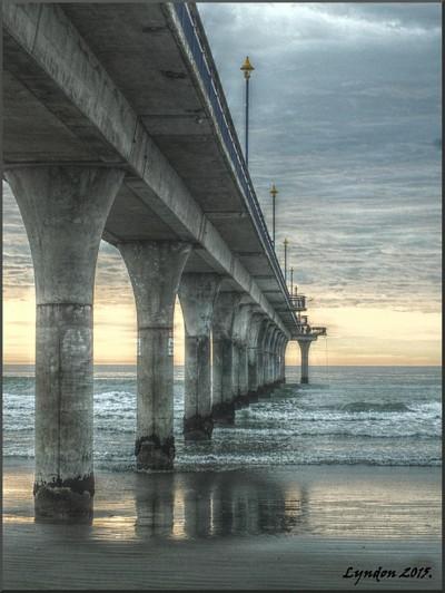 New Brighton Pier, Christchurch, New Zealand
