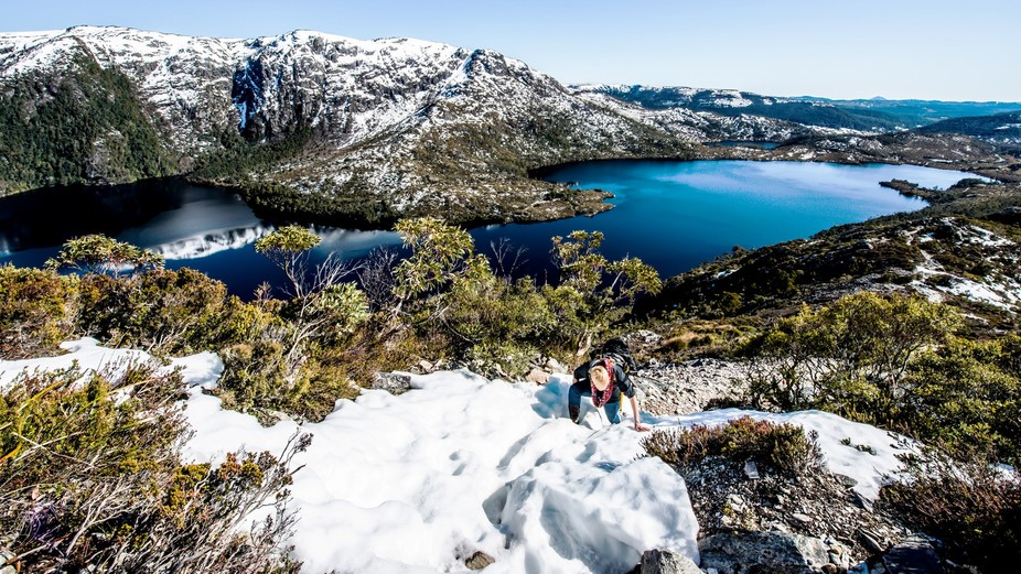 Cradle Mountain Tasmania Climb