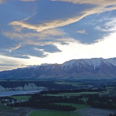 Mt Hutt and the Rakaia