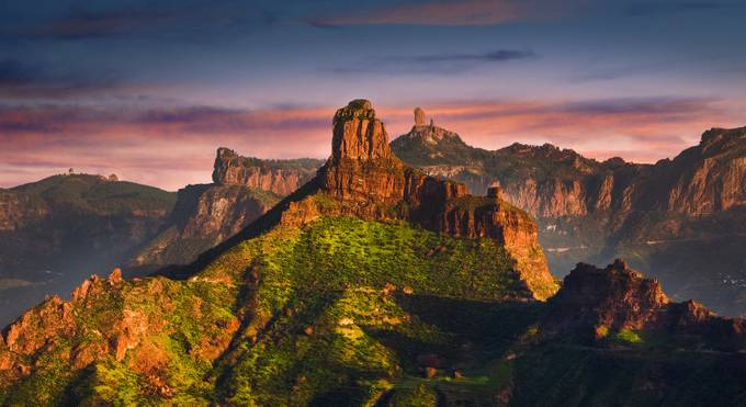 Roque Bentayga & Roque Nublo, Gran Canaria by alastairdixon - HDR Landscapes Photo Contest