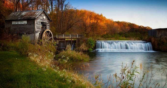 Hydes Mill by angelacuhel - Fall 2016 Photo Contest