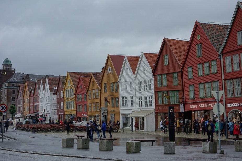 UNESCO World Heritage Site - Bryggen, Bergen, Norway