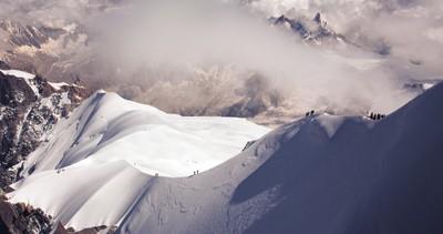 Dramatic Aiguille du Midi, Chamonix