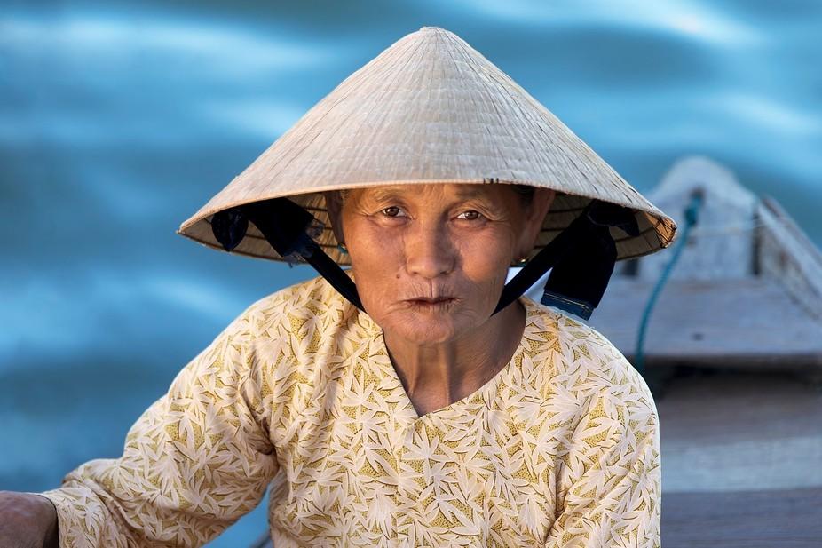 Thu Bồn River, Hoi An Ancient Town, Vietnam.