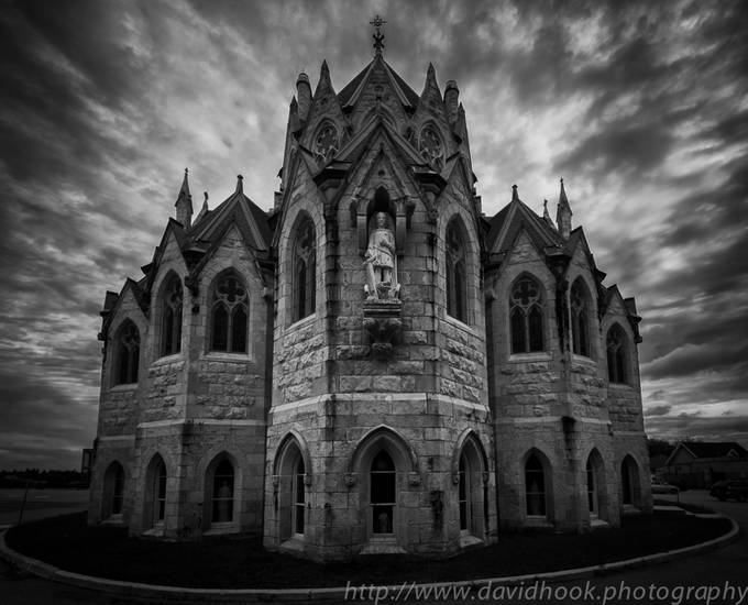 Church of Our Lady by Davehook - A Black And White World Photo Contest