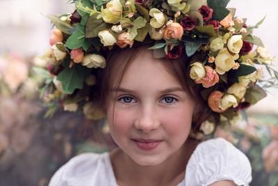 Pretty Girl at Sorochinsky Fair, Ukraine