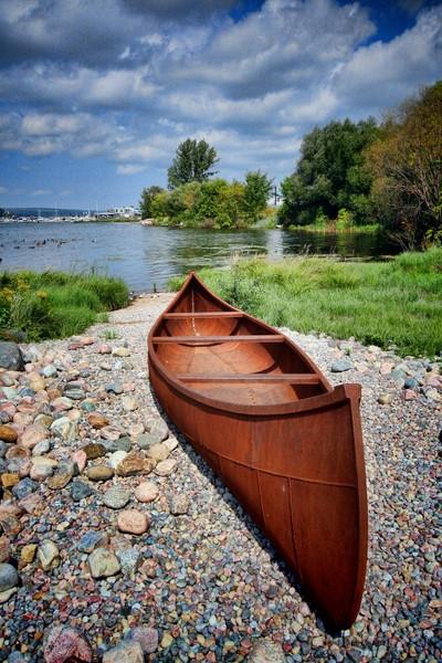 Steel Canoe
