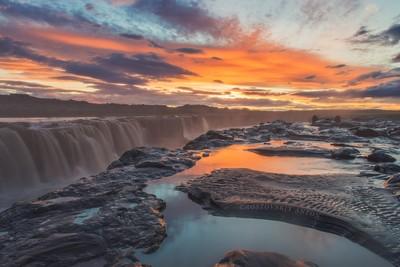 Selfoss in Iceland