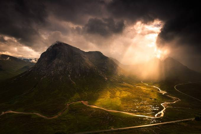 Highland Summer by neilbarr - Dark And Bright Photo Contest