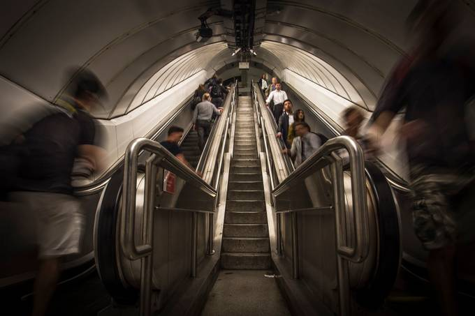 stairway to heaven by pauljoinson - Metro Stations Photo Contest
