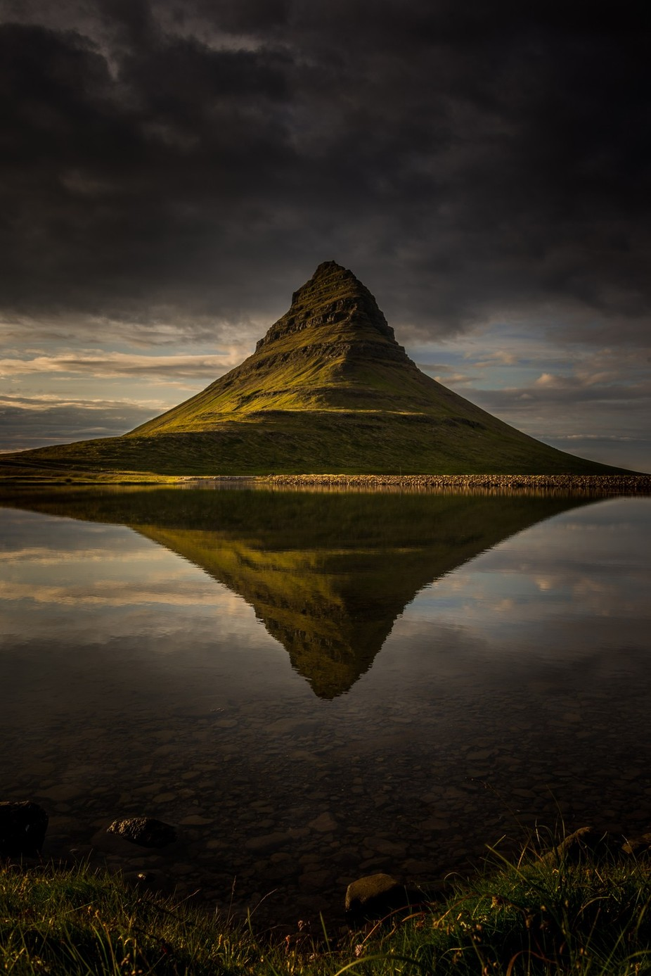 Moody Kirkjufell Reflections! by AshGerrardPhoto91 - Around the World Photo Contest By Discovery