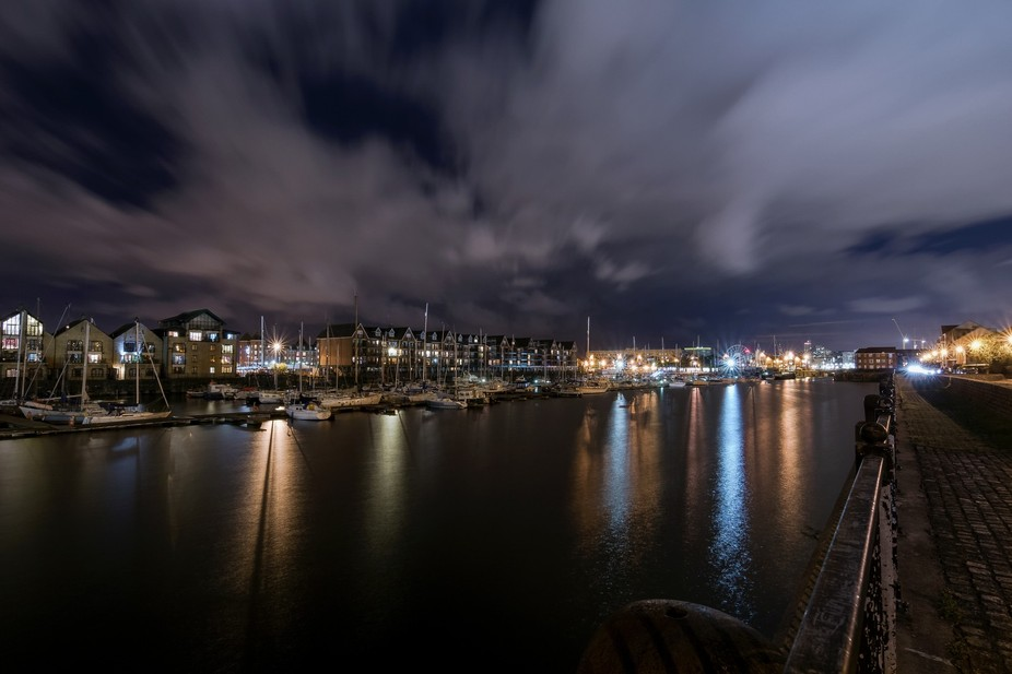 The Brunswick Dock home to Liverpool's Yacht Marina, also some expensive living abodes a...