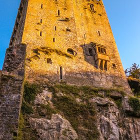 The tall castle, which you need to climb straight to the top to kiss the mystical Blarney Stone to get the gift of Eloquence