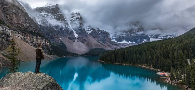 Moody Moraine by danieljamesgreenwood - Standing At The Edge Photo Contest