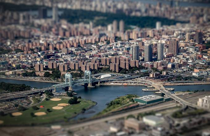 Triborough Bridge Tilt-Shift by stuartist - New York Photo Contest