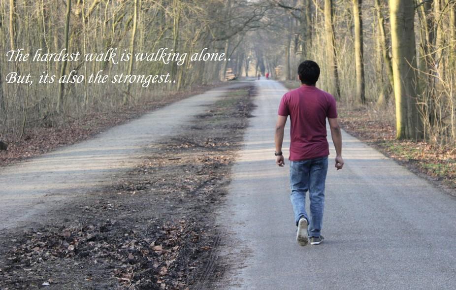 Krishna - Walking Strong