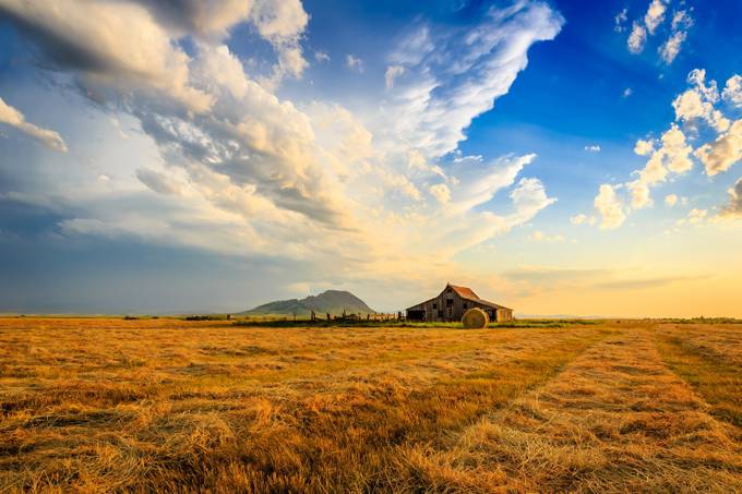 The Barn at Bear Butte by KendraKPK - Rural Vistas Photo Contest