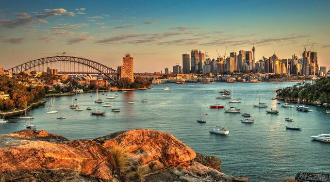 Sydney HDR by vinayks - Sunset In The City Photo Contest