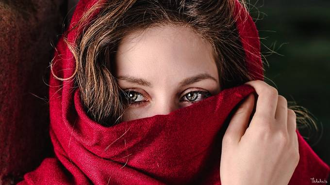 Hazel eyes by AthanasiouPhotography - It Is Red Photo Contest